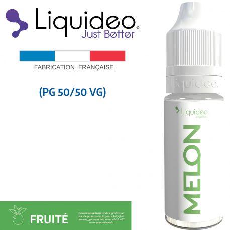 """""""Melon"""" E-liquide saveur FRUITÉE de Liquideo-10ml pour e-cigarette"""