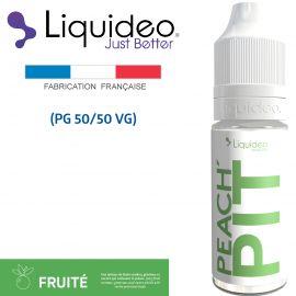 """Peach Pit"" E-liquide saveur FRUITÉE de Liquideo-10ml pour e-cigarette"
