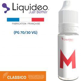 """""""LE M"""" E-liquide saveur CLASSICO de Liquideo-10ml pour e-cigarette"""