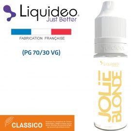 """""""JOLIE BLONDE"""" E-liquide saveur CLASSICO de Liquideo-10ml pour e-cigarette"""