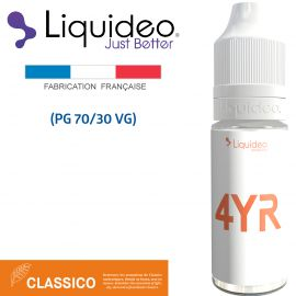 """""""4YR"""" E-liquide saveur CLASSICO de Liquideo-10ml pour e-cigarette"""