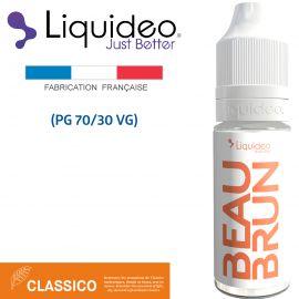 """""""Beau Brun"""" E-liquide saveur CLASSICO de Liquideo-10ml pour e-cigarette"""