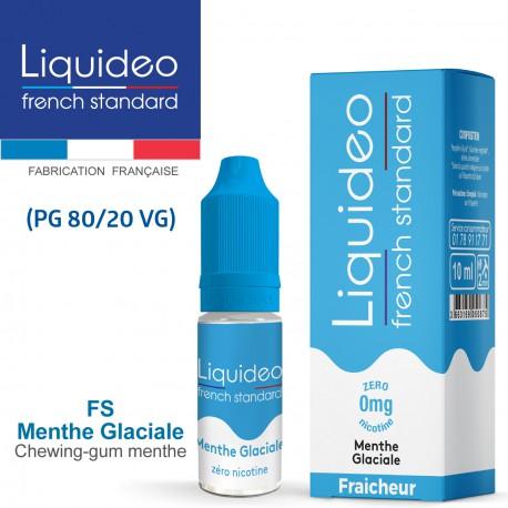 """""""FS MENTHE GLACIALE"""" E-liquide FRENCH STANDARD de Liquideo-10ml pour e-cigarette"""