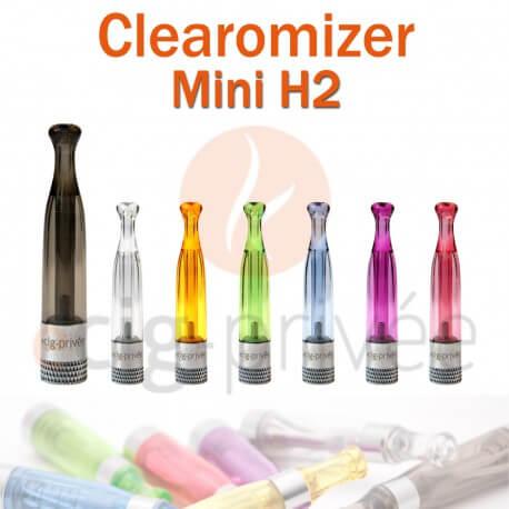 Clearomizer MINI H2 capacité de 0.8ml pour e-cigarette