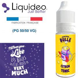 """""""CITRON TONIQUE"""" E-liquide saveur Monsieur BULLE de Liquideo-10ml pour e-cigarette"""