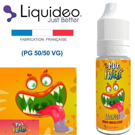 """""""FREEZE GOYAVE-sorbet goyave très rafraîchissant"""" E-liquide saveur FRESH et FRUITÉE de Liquideo-10ml pour e-cigarette"""