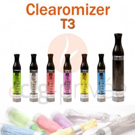 Clearomizer T3 capacité de 2.4ml pour e-cigarette