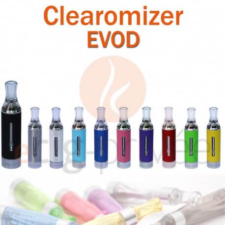 Clearomizer EVOD capacité de 1.6ml pour e-cigarette