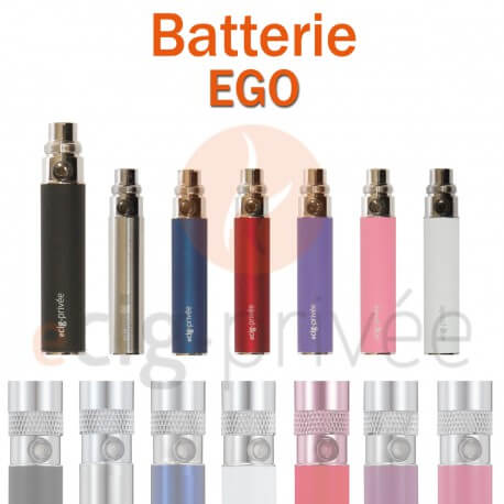 Batterie EGO 650mAh pour e-cigarette