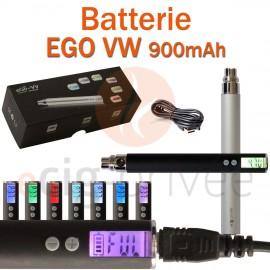 Batterie 900mAh EGO VW pour e-cigarette