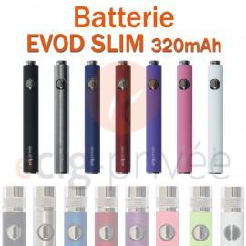 Batterie EVOD SLIM 320mAh pour e-cigarette
