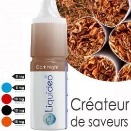 """""""Dark Night"""" E-liquide saveur CLASSICO de Liquideo-10ml pour e-cigarette"""