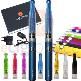 Kit double 650mAh e-cigarette EVOD-H2