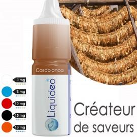 "E-liquide saveur ""Casablanca"" de Liquideo - 10ml"