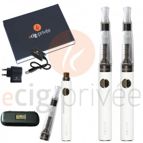 Kit double 650mAh e-cigarette EVOD-CE5