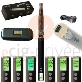 Kit simple 650mAh e-cigarette EGO VW-CE6