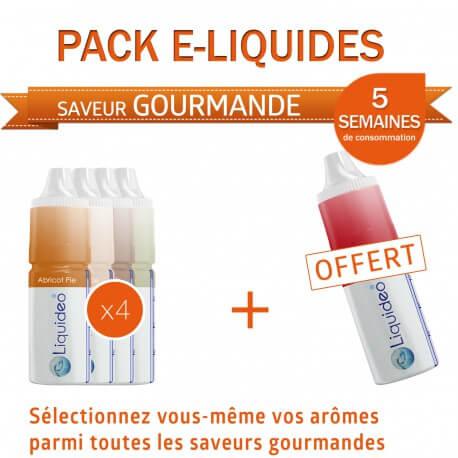 Pack 5 semaines saveur Gourmande + 1 gratuit