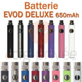Batterie 650mAh EVOD pour e-cigarette