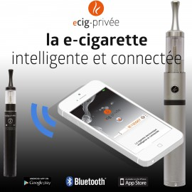 Kit ecig-privée 2800mAh connectée bluetooth