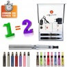 Kit double e-cigarette 650mAh EGO-CE4