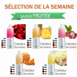 Sélection de la semaine 5 e-liquides SAVEUR FRUITÉE