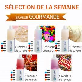 Sélection de la semaine 5 e-liquides SAVEUR GOURMANDE