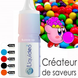 "E-liquide saveur ""Bubble up"" de Liquideo - 10ml"