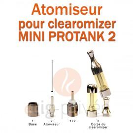 Pack de 5 résistances pour clearomizer MINI PROTANK 2