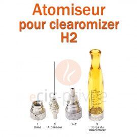 Pack de 5 résistances pour clearomizer H2