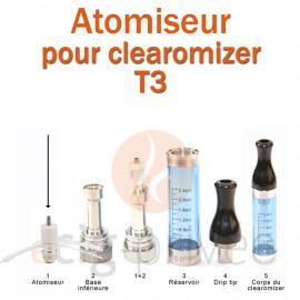 Tête d'atomiseur pour clearomizer CE6