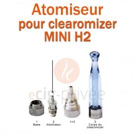 Pack de 5 résistances pour clearomizer MINI H2