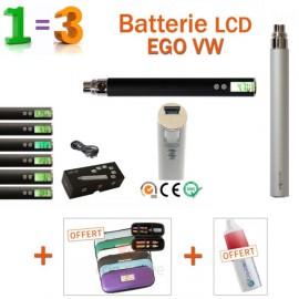 PROMO-Batterie 650mAh EGO VW + 2 accessoires GRATUITS