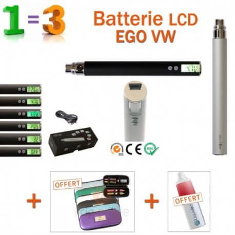 PROMO-Batterie 900mAh EGO VW + 2 accessoires GRATUITS
