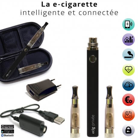 Batterie Bluetooth 900mAh ECIG-COACH pour e-cigarette