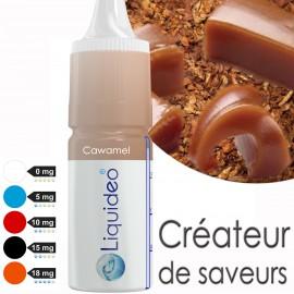 """""""Cawamel """" E-liquide saveur GOURMANDE de Liquideo-10ml pour e-cigarette"""