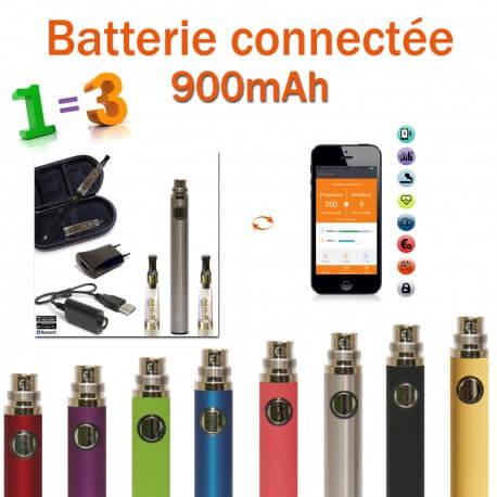 Kit Batterie 900mAh Bluetooth + accessoires GRATUITS