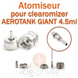 Pack de 5 résistances VOCC pour clearomizer AEROTANK GIANT 4.5ml