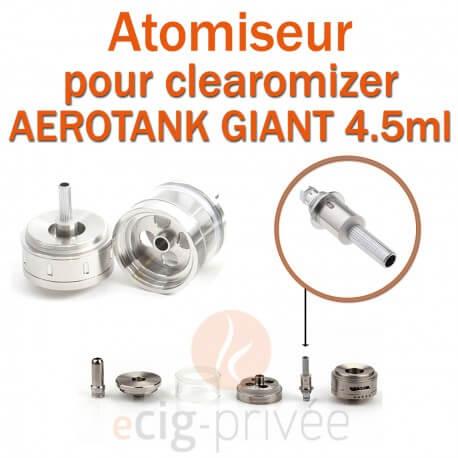 Pack de 5 résistances pour clearomizer AEROTANK GIANT 4.5ml
