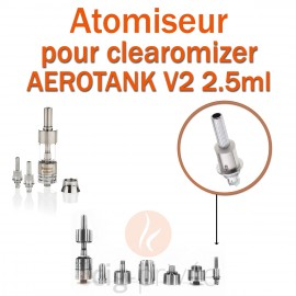 Pack de 5 résistances pour clearomizer AEROTANK V2 2.5ml