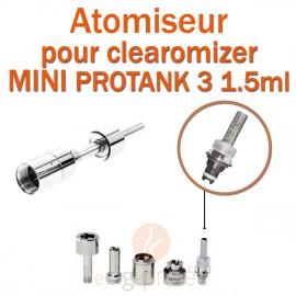 Pack de 5 résistances pour pour clearomizer MINI PROTANK 3 1.5ml