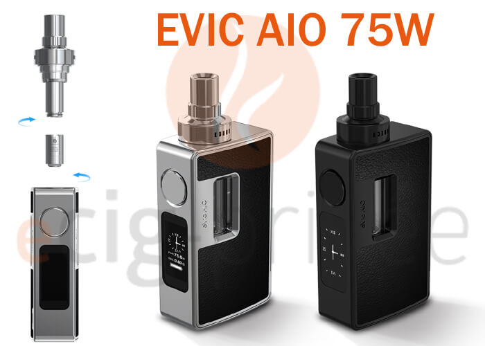 le manuel de la mini box evic aio 75w ecig priv e. Black Bedroom Furniture Sets. Home Design Ideas