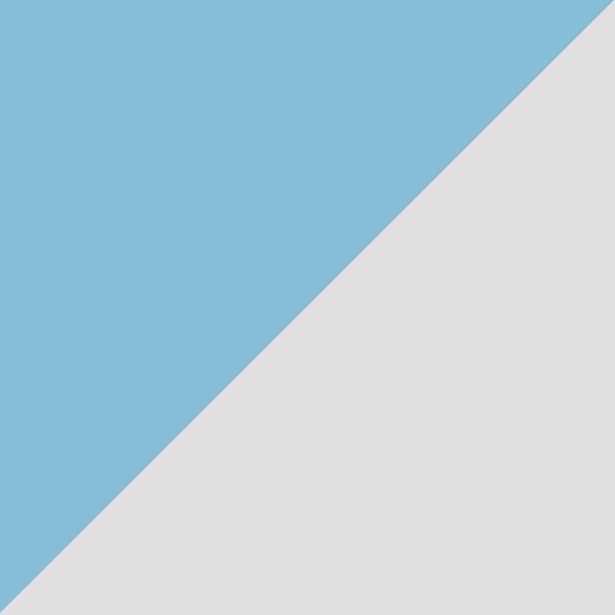Bleu/Argent