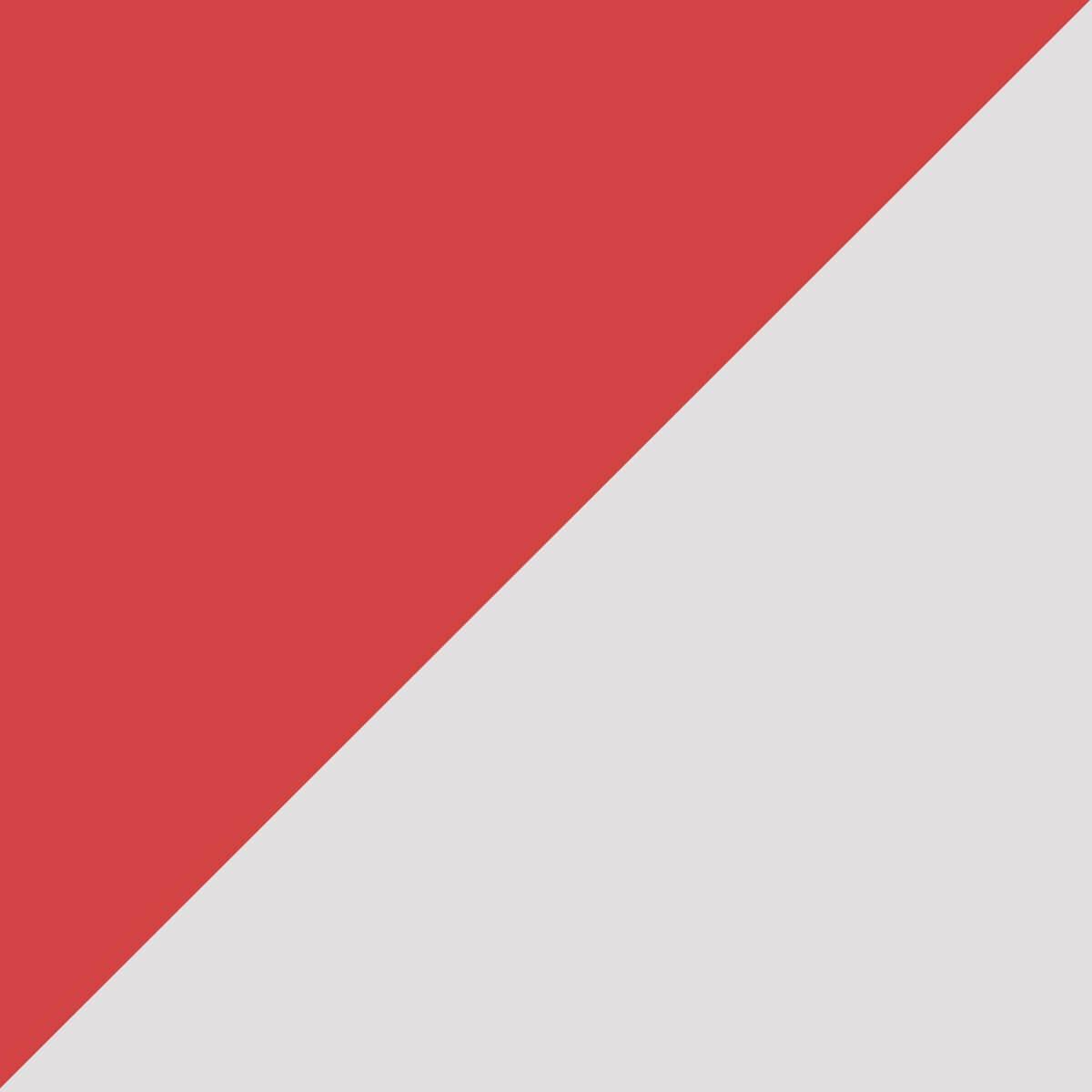 Rouge/Argent
